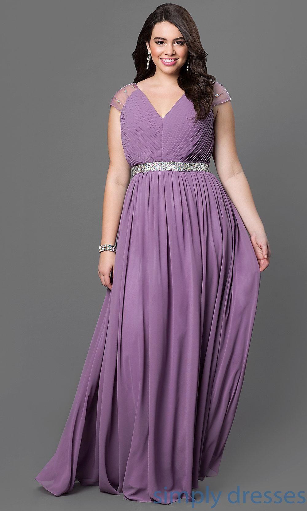 Vestidos de fiesta plus size para gorditas XXL #Gorditas #vestidos ...