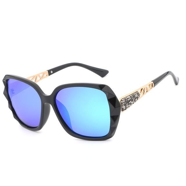 bf6dee9d48c56 New Arrival HDCRAFTER Luxury Brand Design Sunglasses oversized Women  Polarized sun glasses high quality Female Prismatic Eyewear