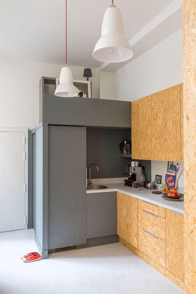 Rénovation appartement familial  71 m2 relookés à Paris Kitchens