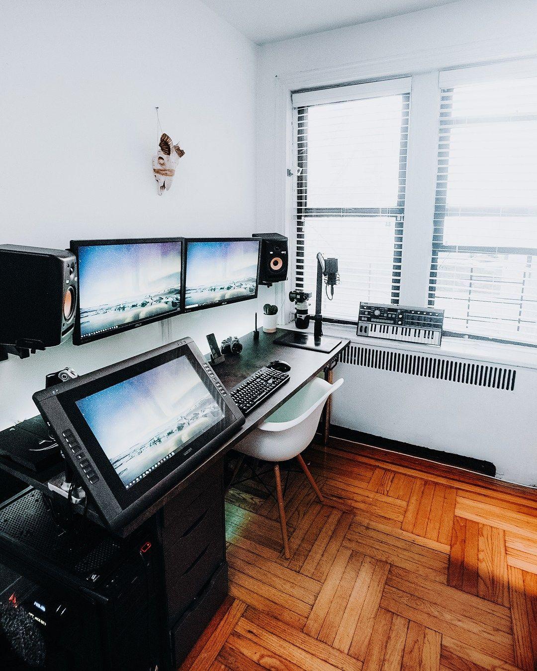 Professional Room Designer: Professional Music & Design Workspace By Edward Nunez