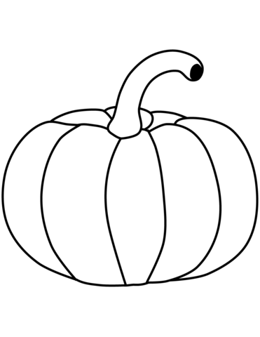 Pumpkin Coloring Page From Pumpkins Category Select 27197 Printable Crafts Of Cartoons Nature