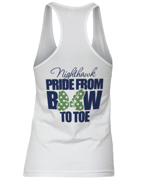 Pride From Bow To Toe Cheer Team Tank   ABD   Custom Greek ...