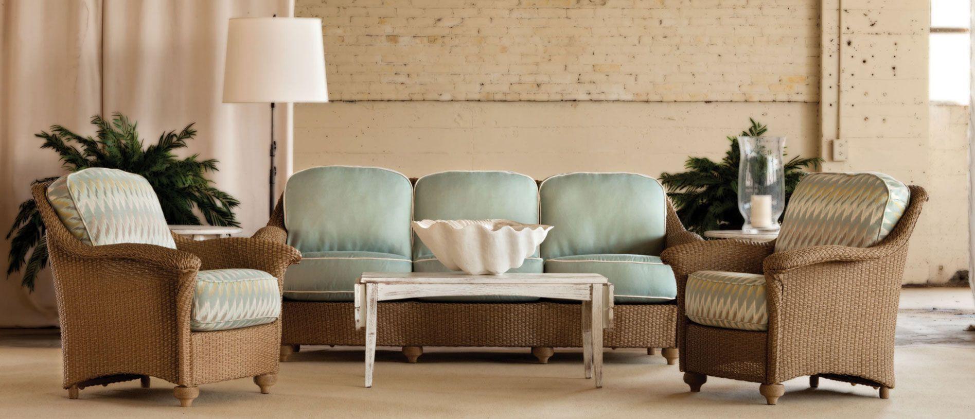 Lloyd Flanders Wicker Furniture Replacement Cushions Wicker