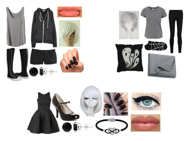 """""""Bullet's other outfits"""" by ironically-a-strider21 ❤ liked on Polyvore featuring Forever 21, Converse, Allurez, Donna Karan, Columbia, Chinese Laundry and Jewel Exclusive"""