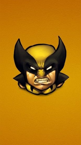 X Men Wolverine Yellow The Iphone Wallpapers Marvel Wallpaper Iphone Wallpaper Wolverine