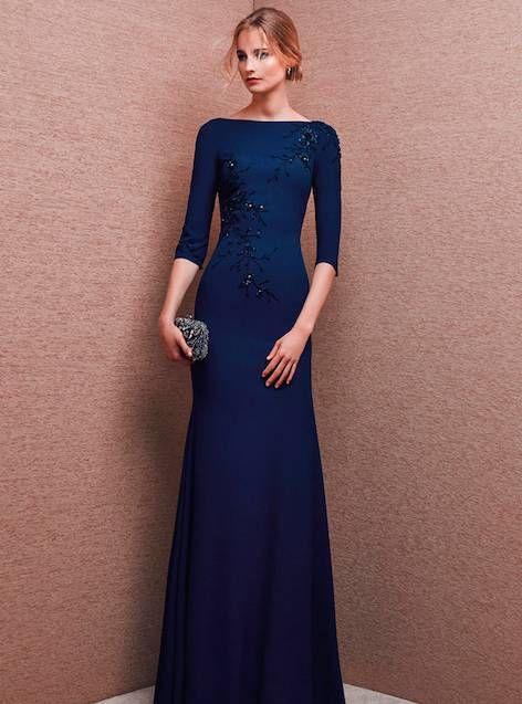 0c6ecd3e0 Vestidos de madrina azul noche – Vestidos de boda