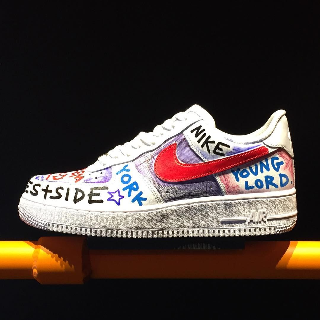 Nike will release custom Air Force 1s at the VLONE pop-up shop in Harlem
