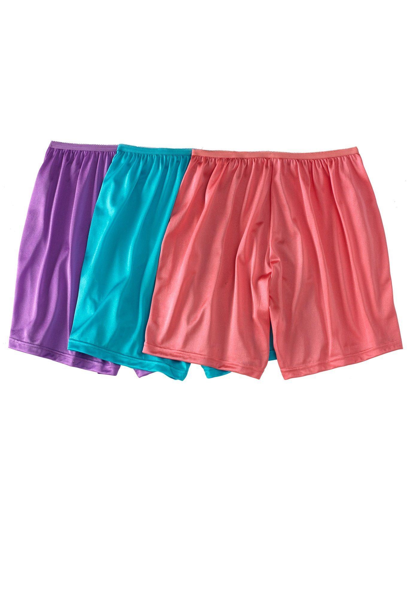 81044b06d25c 3-pack nylon boxer briefs by Comfort Choice - Women's Plus Size Clothing  Plus Size