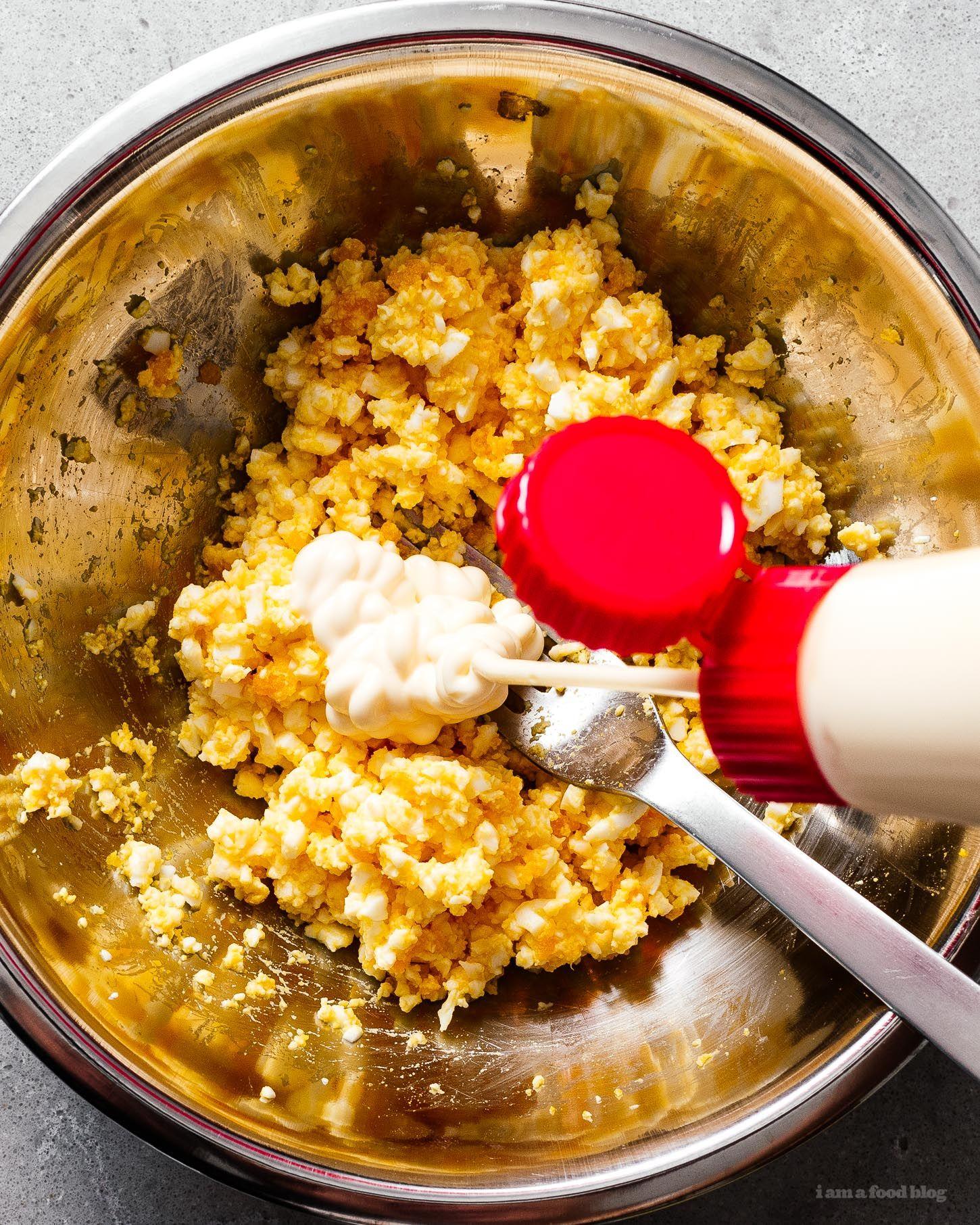 Egg Salad Recipe Kewpie Mayo