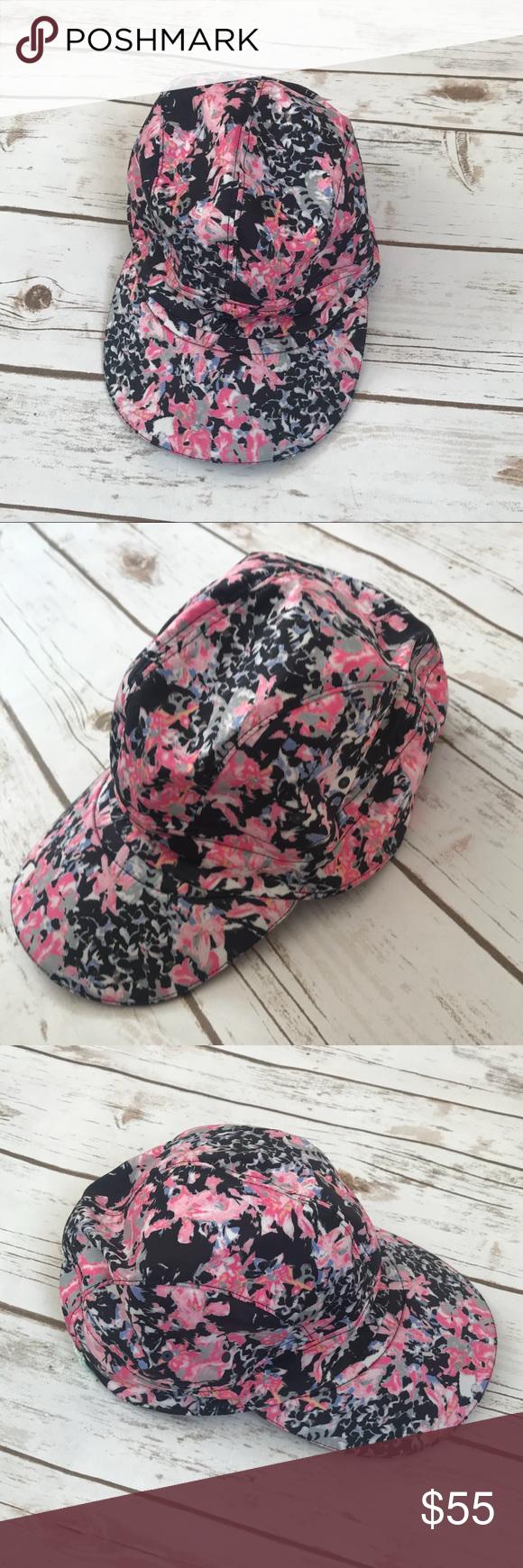 8058a2e5f21 Lululemon Floral Print Women Hat Lululemon Floral Print Women Hat