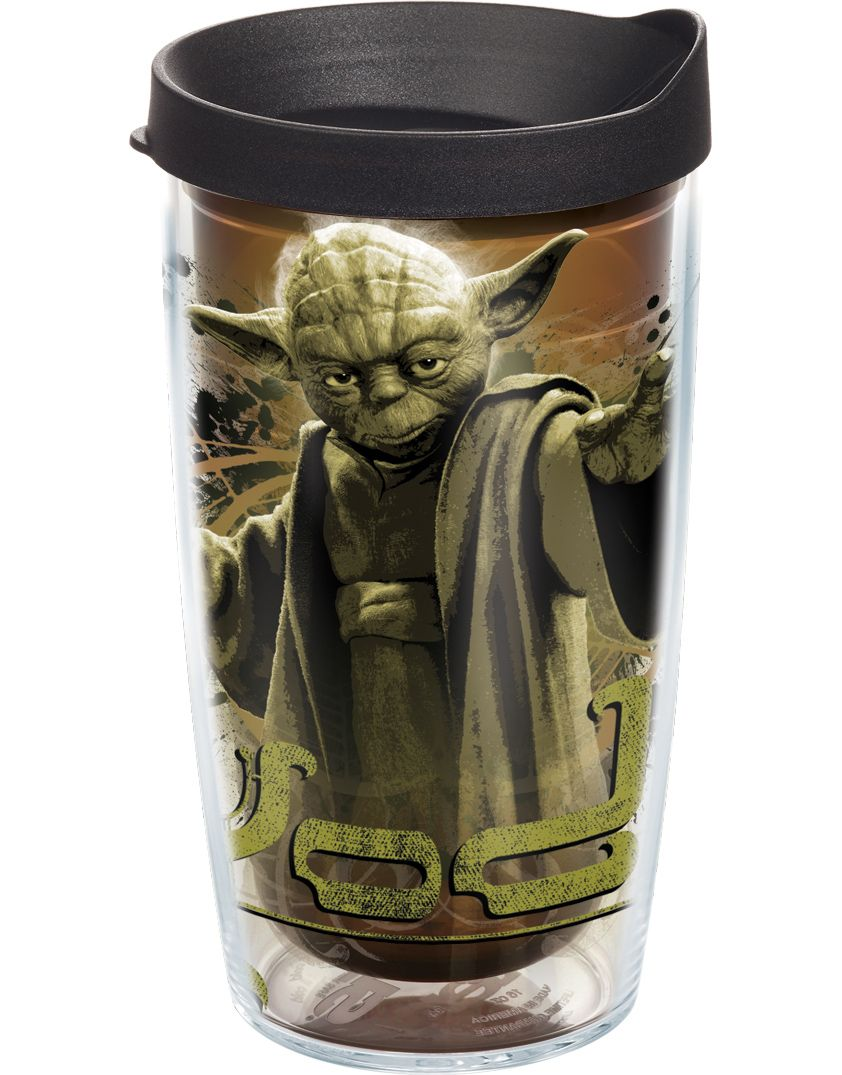 22317227893 Star Wars™ Yoda Wrap with Lid | 24oz Tumbler | Tervis® $23 ...