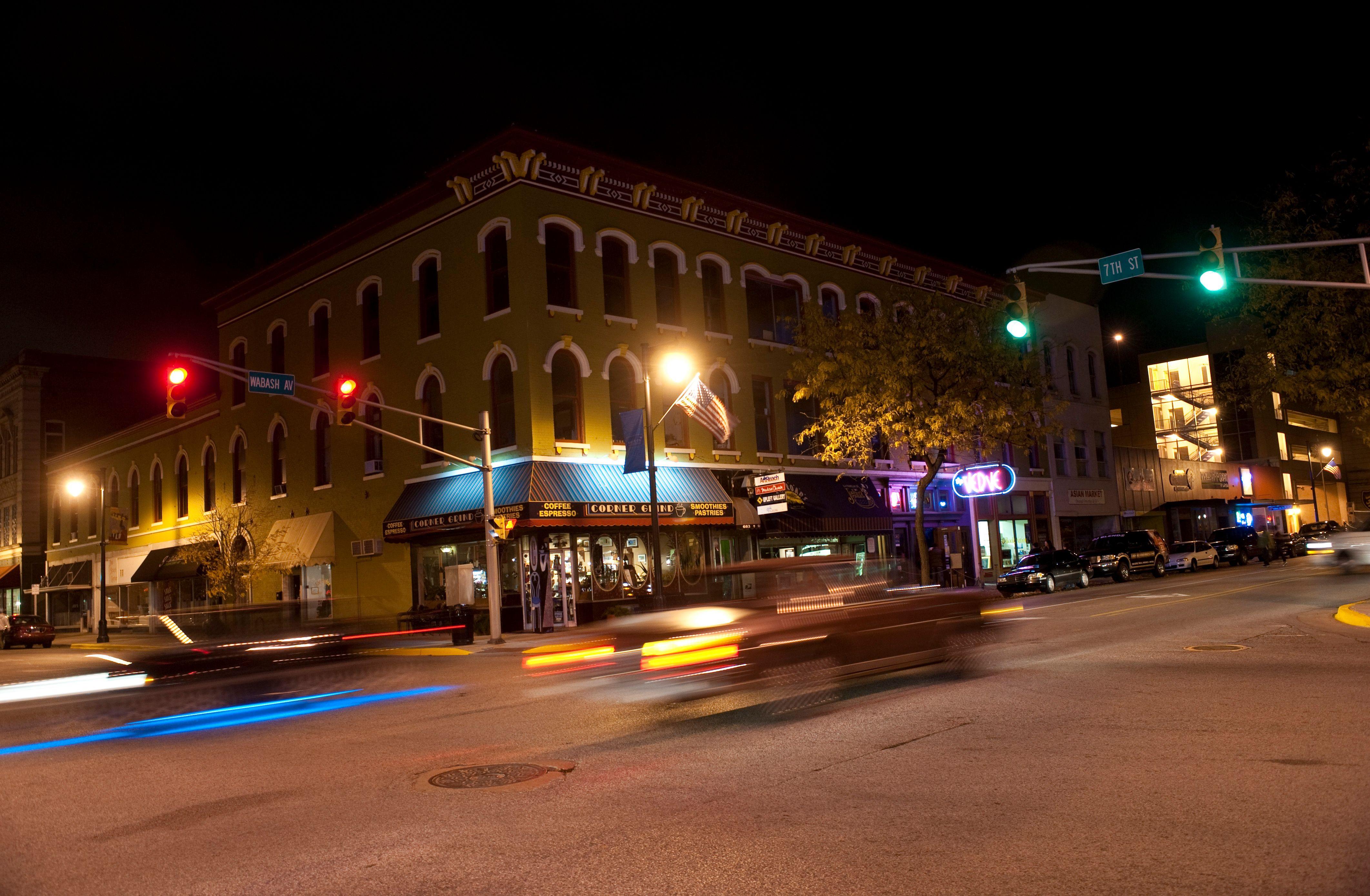 Downtown Terre Haute Kincaid's Salon is on S. 3rd St