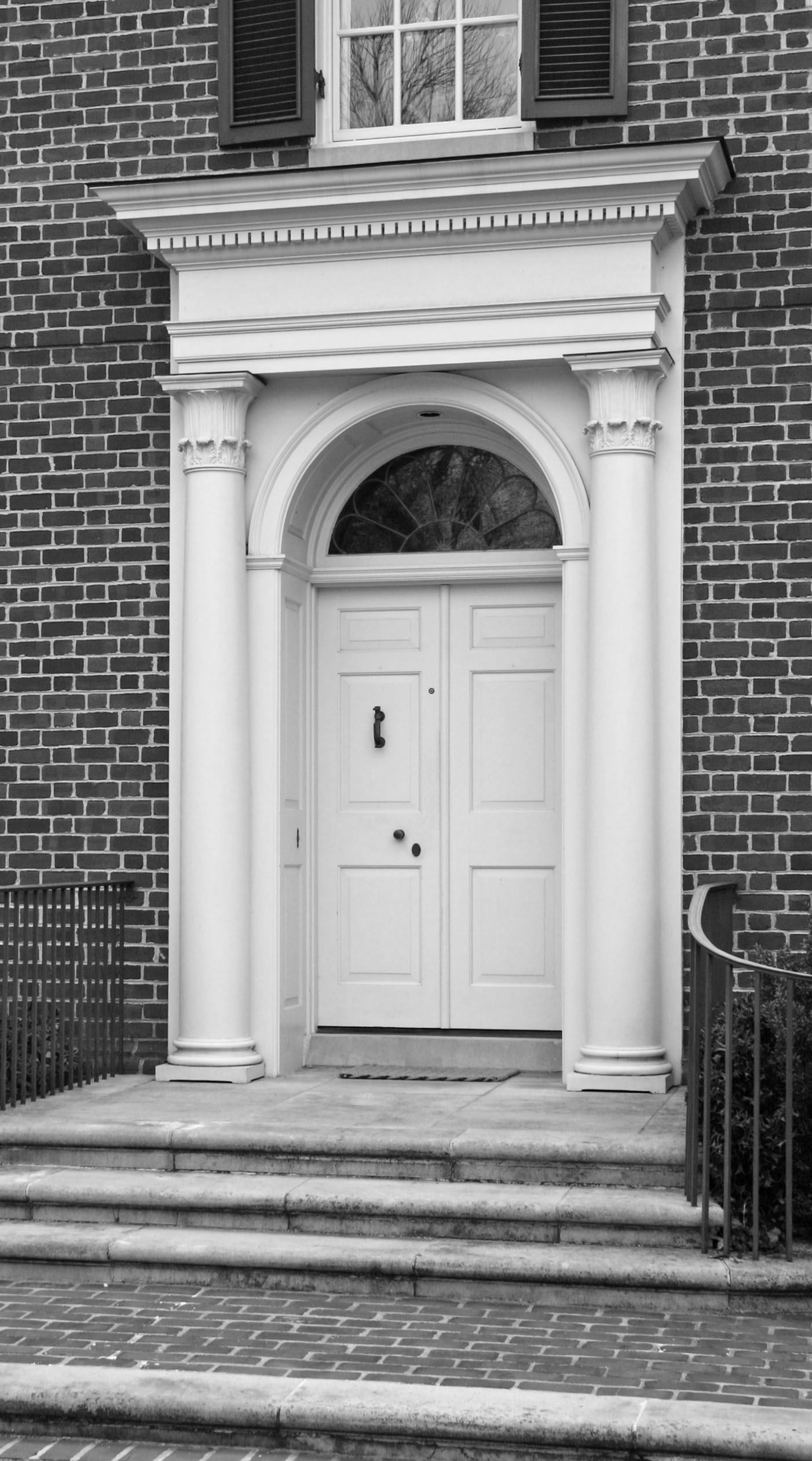 Door Surround Menzer Mcclure Architects Details