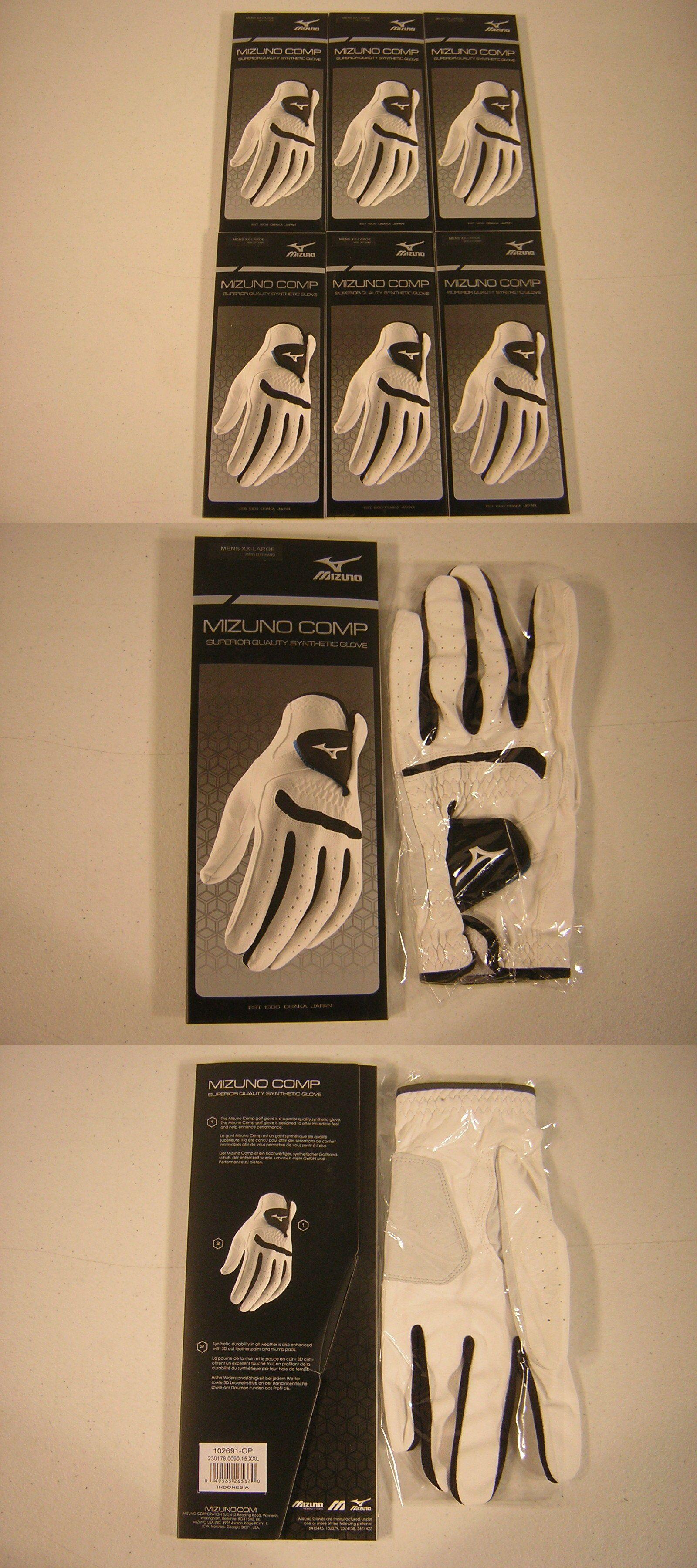 Mens golf gloves xxl - Golf Gloves 181135 New Mizuno Golf Comp Mens Gloves Size Xxl 6 Pack Buy