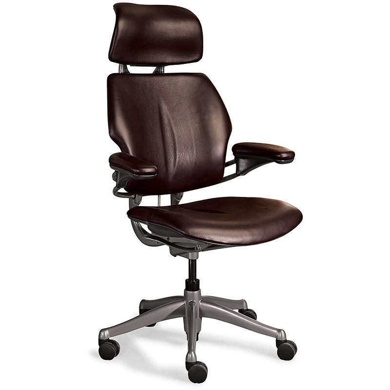 Bomber Jacket Desk Chair With Neck Support Leather Desk