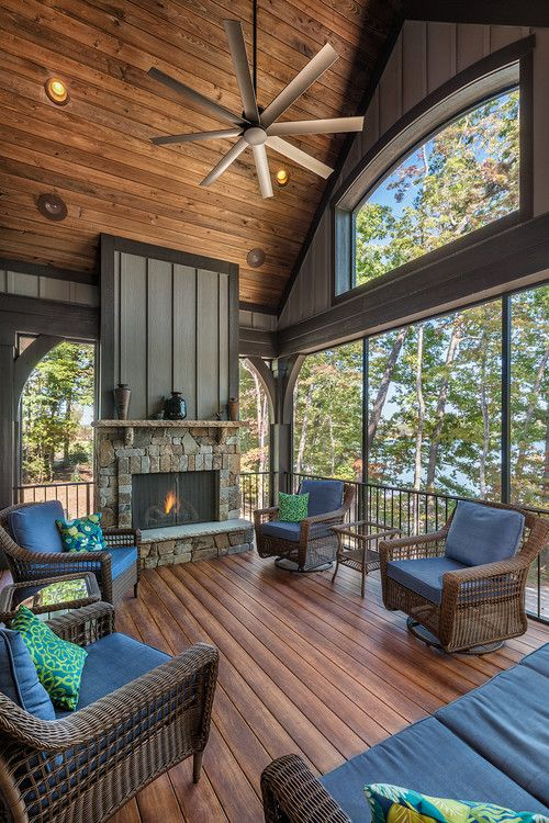 Back Porch Additions Best Ideas About Room Additions On House Additions Interior Designs: Casual Lake Living By Dillard-Jones Builders, LLC