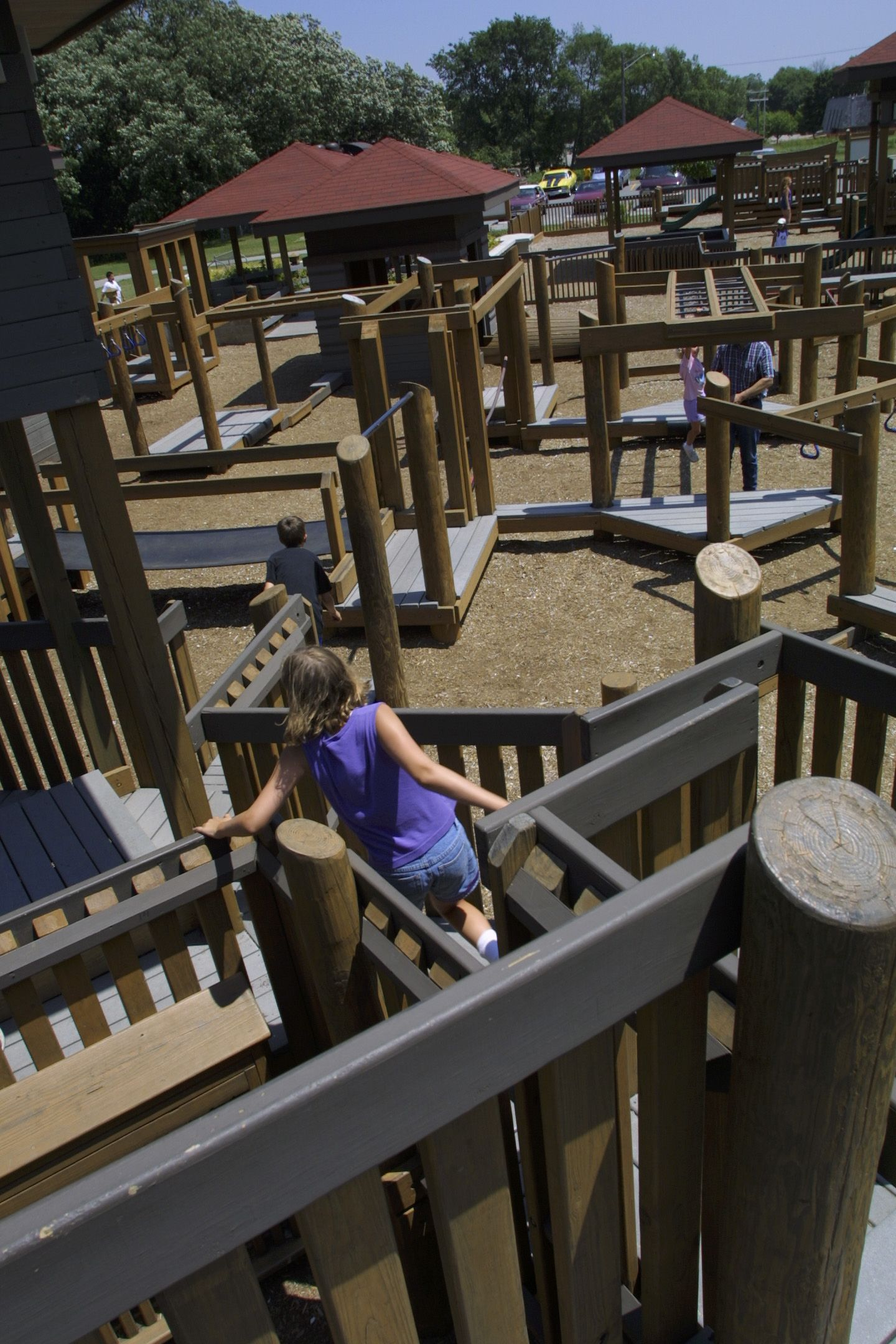 Prairie Playground is the largest outdoor play area in Ma