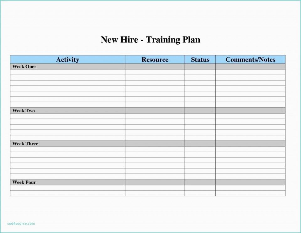 008 Fitness Workout Plan Template 20schedule Daily Training Excel