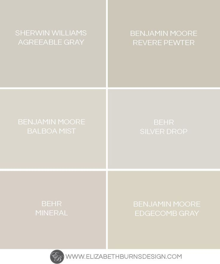 The perfect shades of greige revere pewter benjamin for Perfect neutral gray paint
