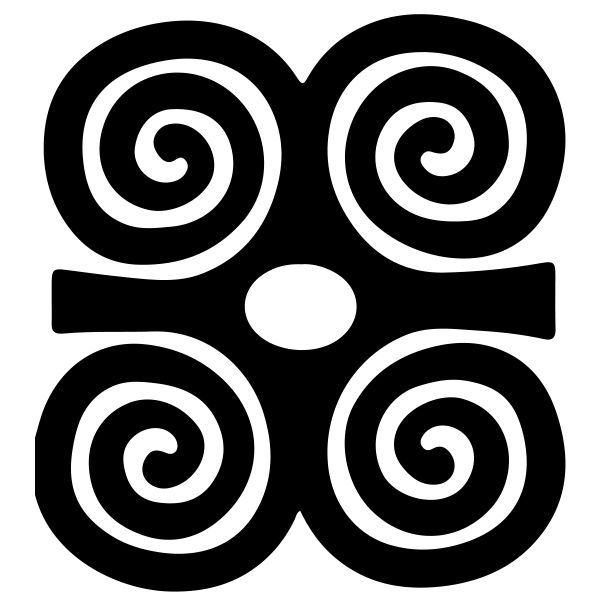 Dwennimmen Symbol Of Strength Together With Humility Rams Horns