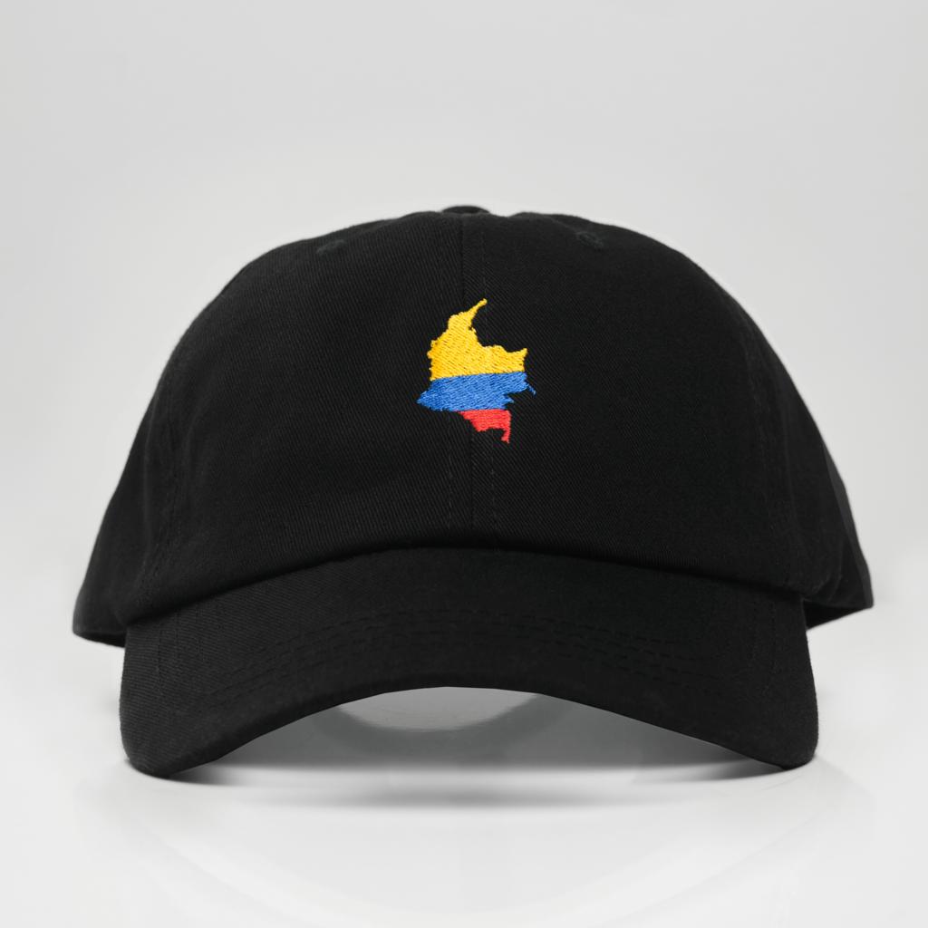 6d03c0ba Colombia Dad Hat La Tierrita Hot New Trend Gorra Colombiana Black Negra de  Colombia
