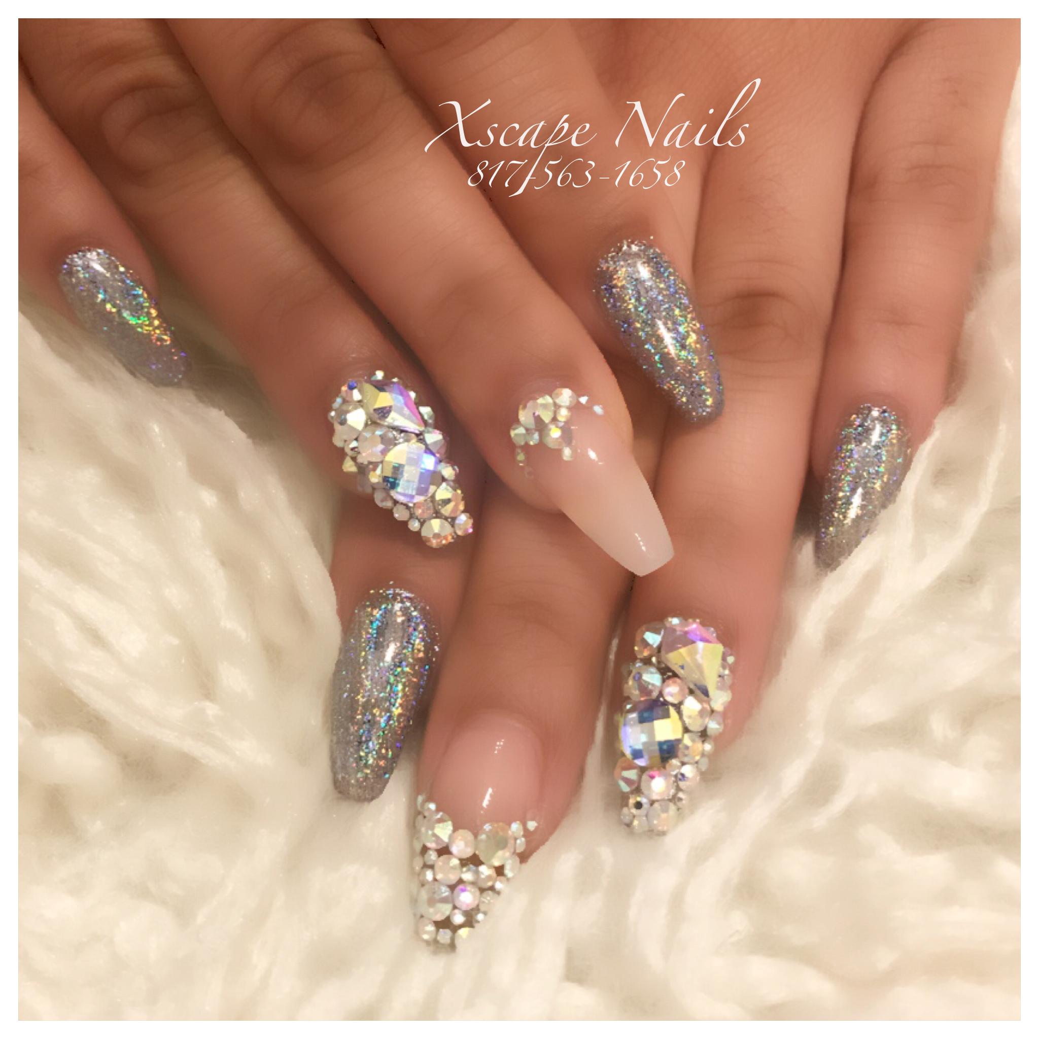 Galaxy chrome nails | js.uñas!!! | Pinterest | Chrome nails and ...