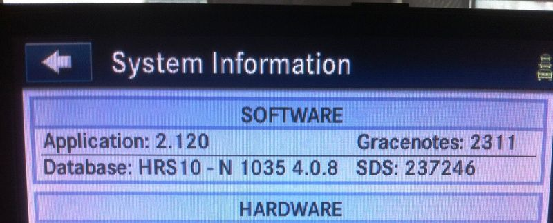 1  Software Update MyGIG RHR-RHW-RHP Units / Version 2 120