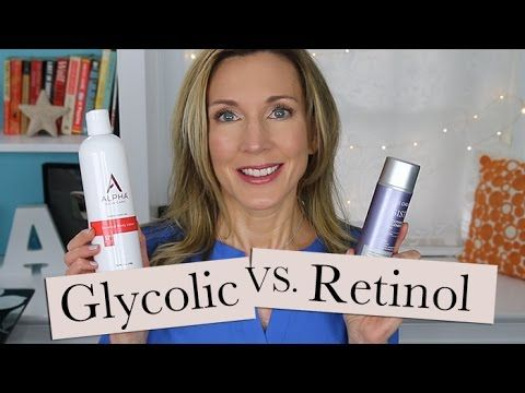 Help For Crepey Body Skin Retinol Vs Glycol Lotion 6 Min The Alpha Skin Care Glycolic Lotion Was The Winner Face Skin Care Body Skin Skin Care Solutions