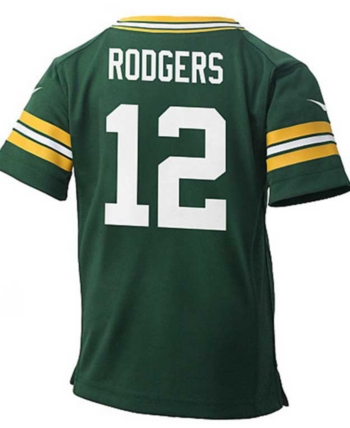 new styles 91e37 b5f6f Nike Baby Aaron Rodgers Green Bay Packers Jersey - Green 2T ...