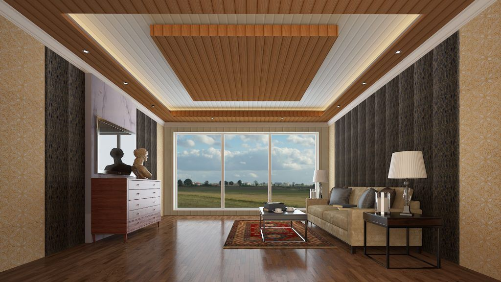 Pvc Wall Panel In 2020 Pvc Wall Panels Wall Panels Bedroom False Ceiling Design