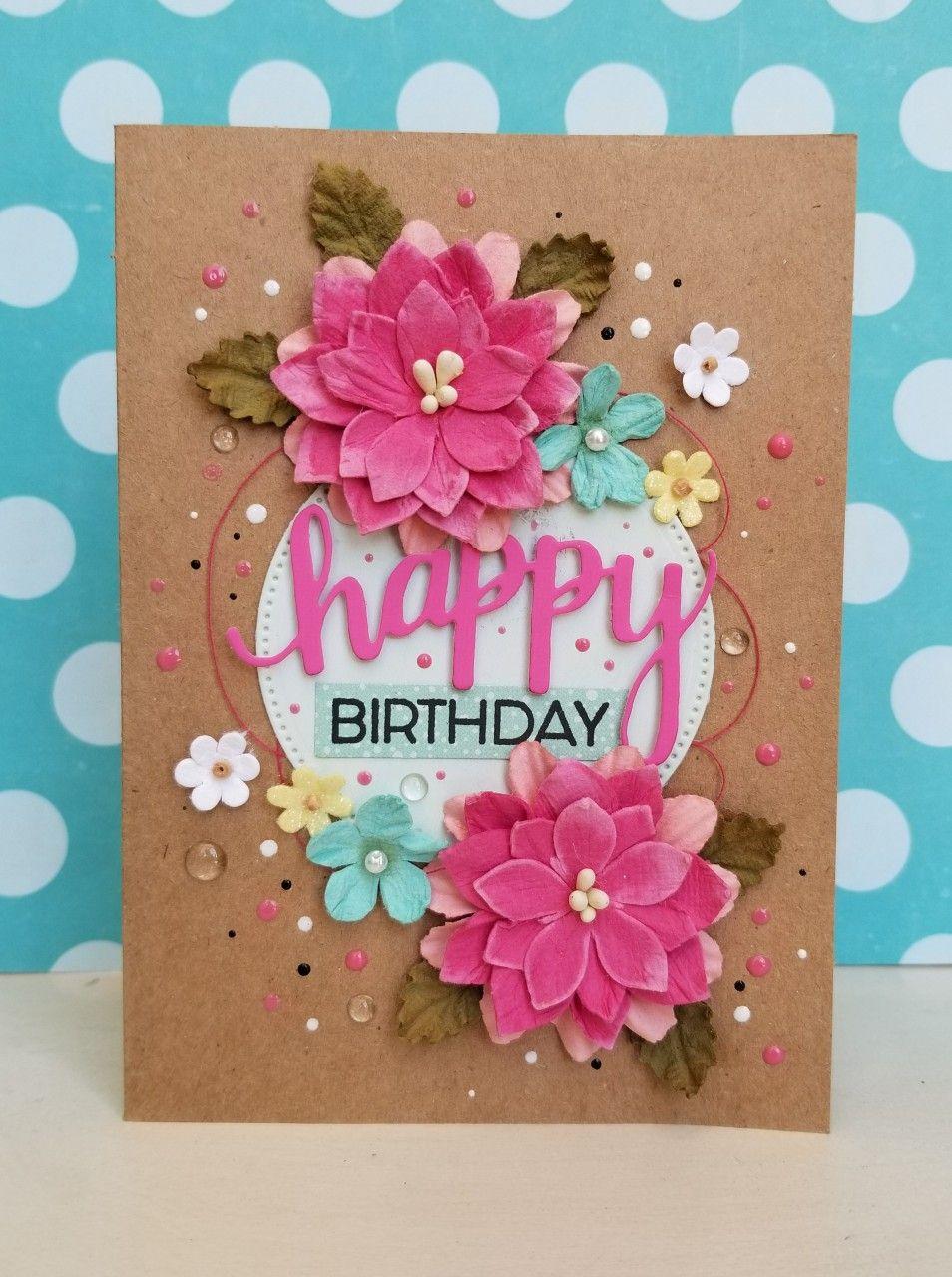 Happy Birthday Card Handmade