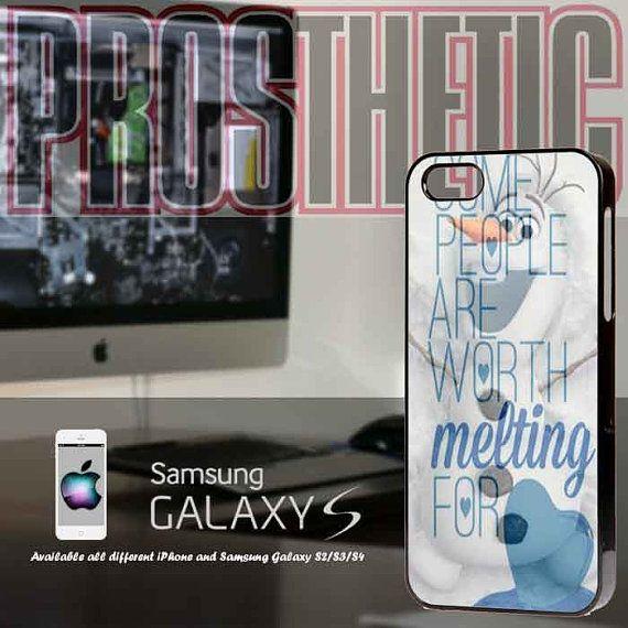Disney Olaf Quote iPhone 4 case, iPhone 5 case, Samsung galaxy case, Samsung Galaxy s3 , Samsung Galaxy s4 case