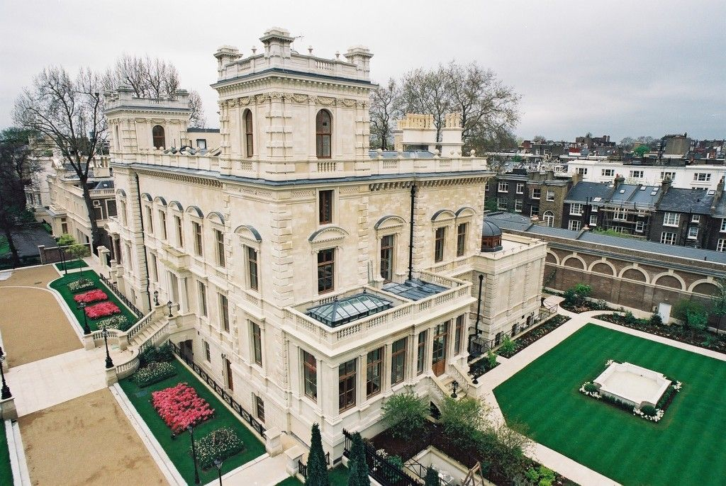 Biggest House In The World Luxurious Abode Of The Rich Famous Kensington Palace Gardens Expensive Houses Billionaire Homes