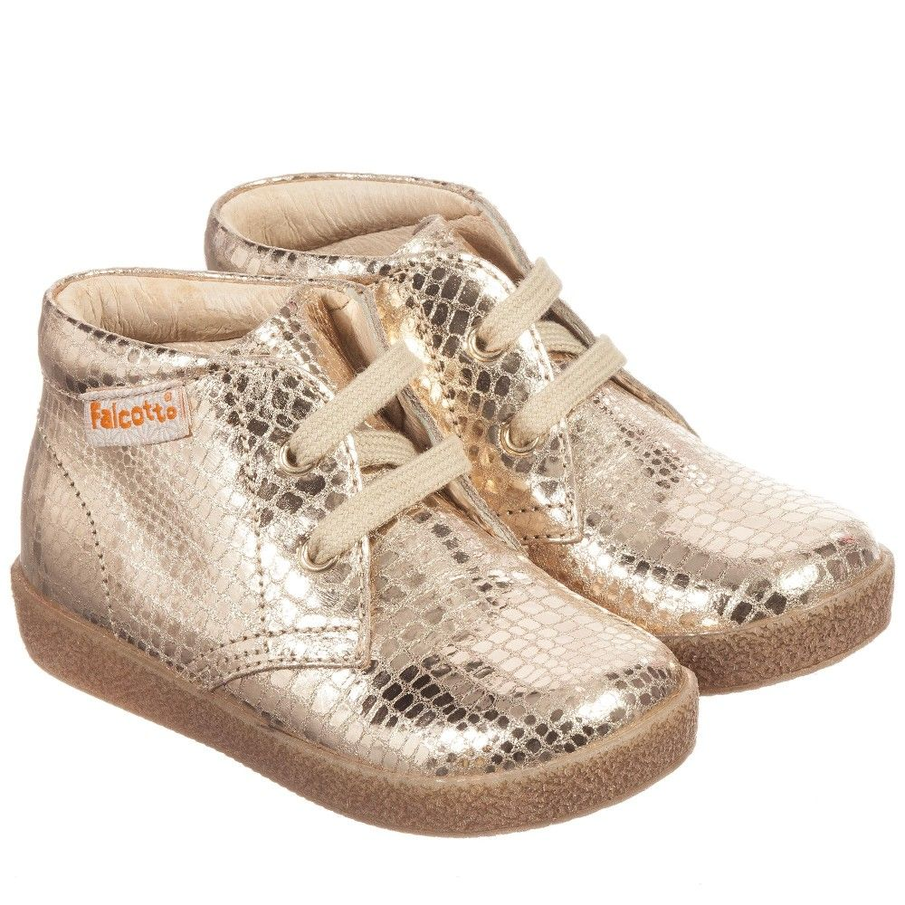 Metallic Gold Leather Lace Up Ankle Boots Metallic Gold Leather Lace Up Ankle Boots Leather And Lace