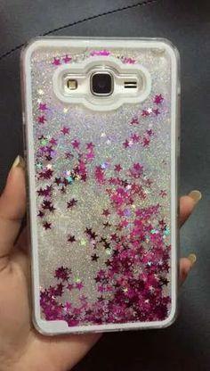 575aff19a3491 Funda Líquida Estrellas Con Brillos Samsung Galaxy J7 -   200.00 ...