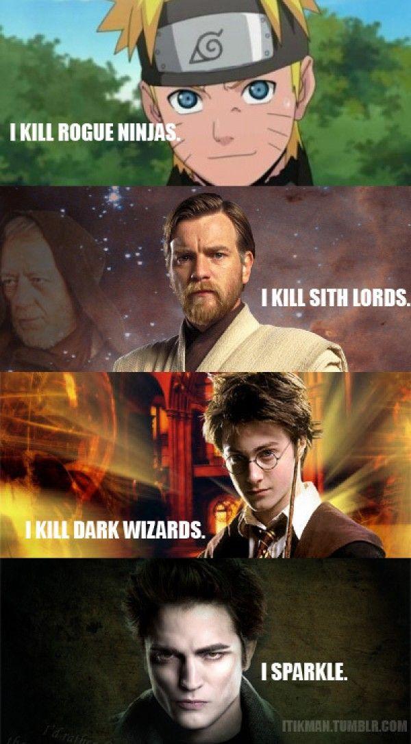 Pinterest Humor Official Funny Blog Twilight Funny Twilight Memes Harry Potter Vs Twilight