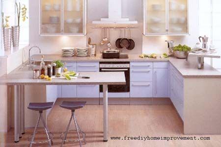 1000+ images about Kitchen on Pinterest | Kitchen peninsula, Small ...