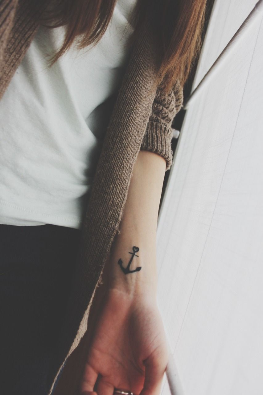 Thereus something about an anchor tattoosuthelike pinterest