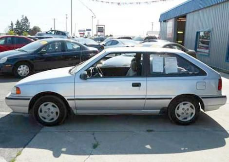 Used 1993 Hyundai Excel Coupe For Sale In Washington Used Hyundai Hyundai Cheap Cars For Sale