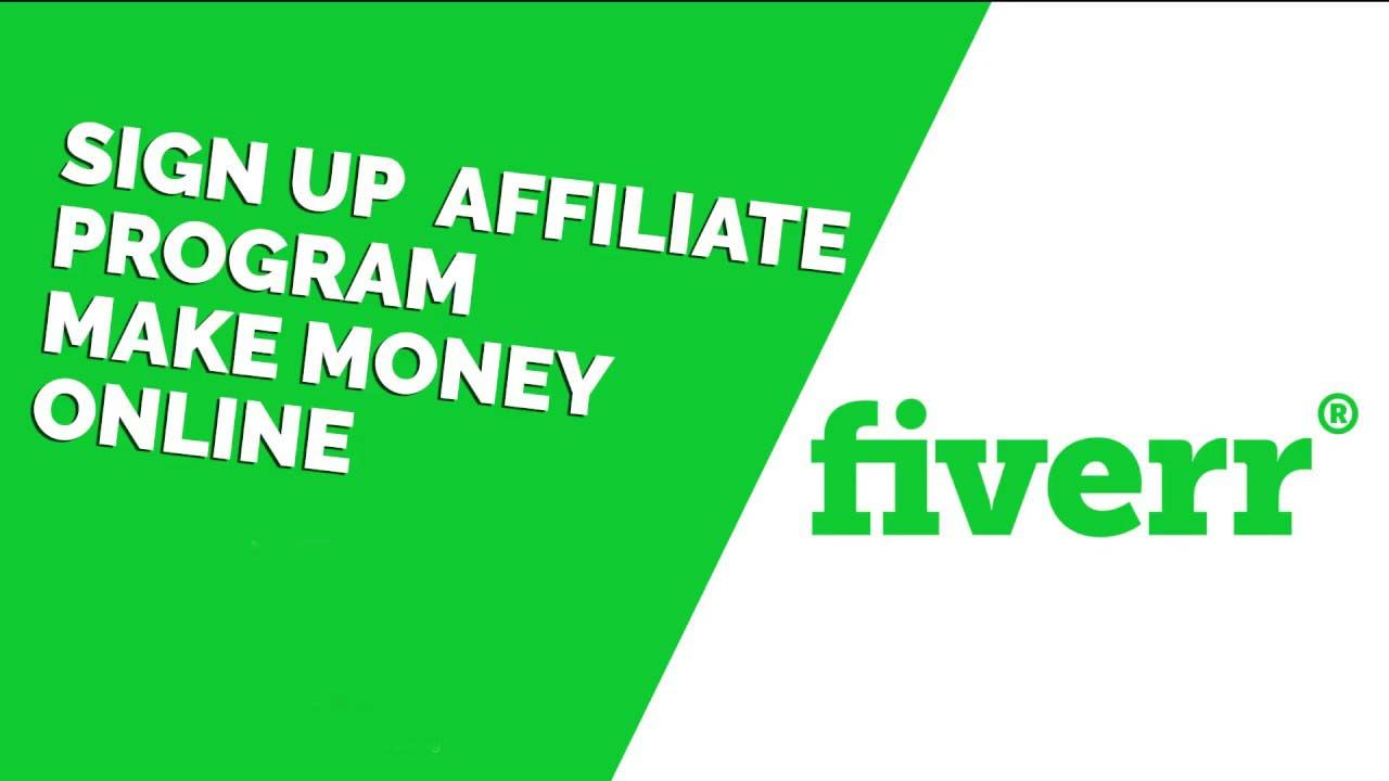 How to make money with fiverr affiliates fiverr