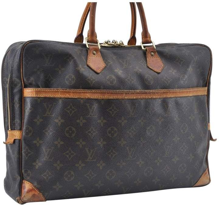 Louis Vuitton Brown Cloth Travel Bags Louis Vuitton Travel Bags Louis Vuitton Travel