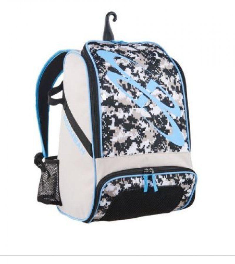 Bat Bag Baseball Softball Equipment Backpack Tote Boombah Light Blue Bat Pack #Boombah #Backpack