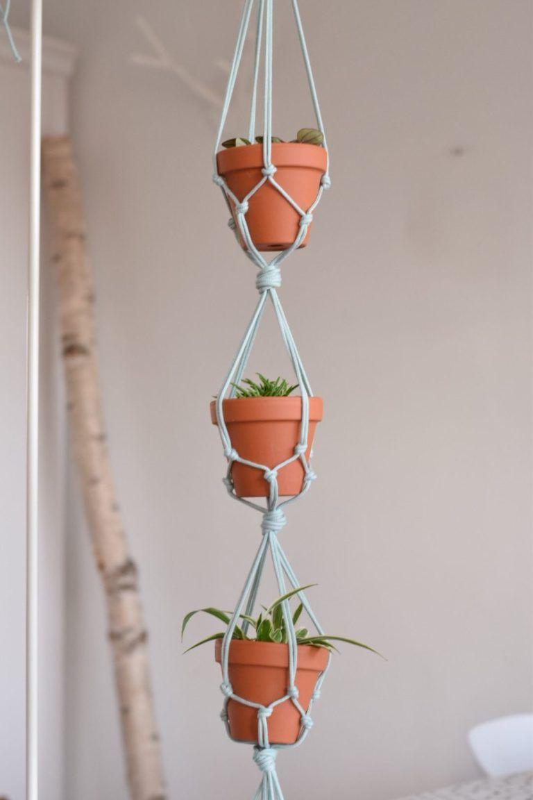 Plantenhangers knopen..! - Happy Handmade living