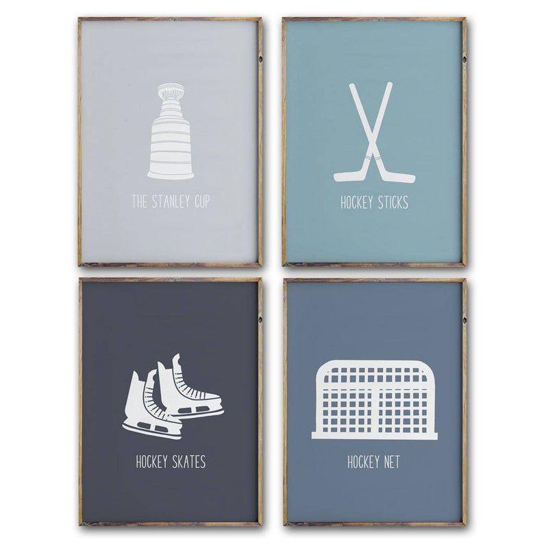 Hockey Art Prints Printable Art Hockey Wall Art Prints Etsy In 2020 Hockey Bedroom Hockey Wall Art Hockey Decor