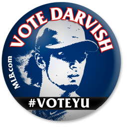 I'm expecting a mammoth fruit basket from Yu Darvish if he gets voted to the #ASG.