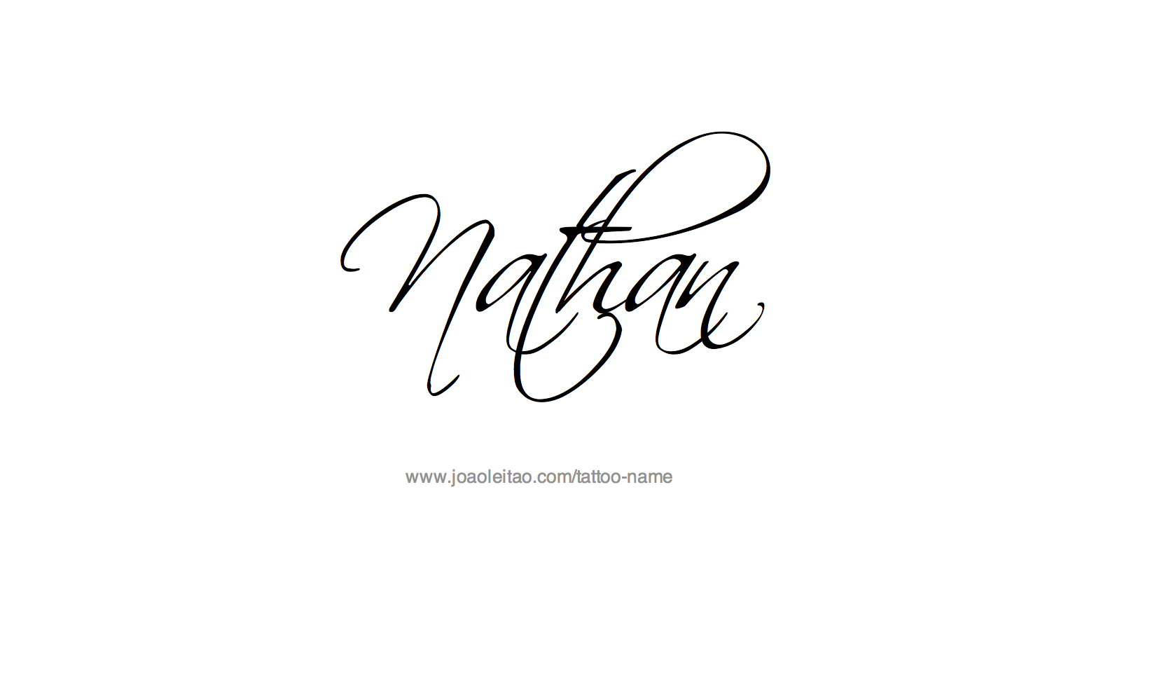 Nathan name tattoo designs tattoo designs tattoo and for Name style design