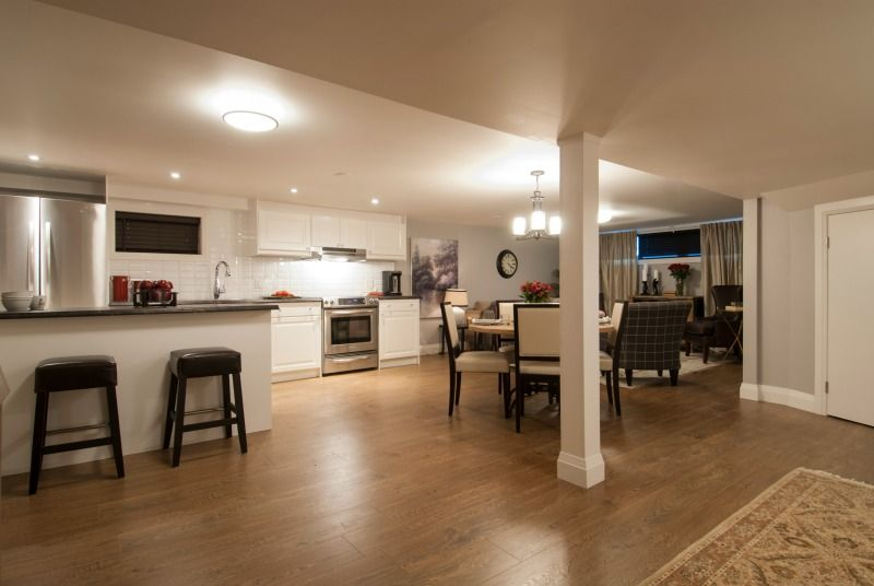 Roomy Basement Apartment Income Property Hgtv Basement Apartment Decor Apartment Floor Plans Basement Apartment