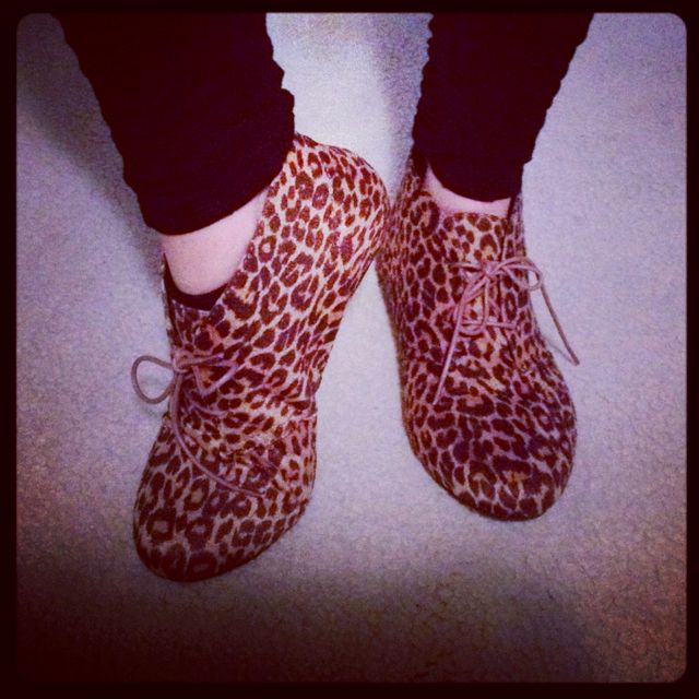 Inspiration! The PJ Salvage team loves Leopard Shoes!!