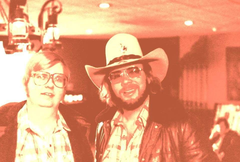 Hank Jr and Dan Bledsoe (fan) at Holiday Inn in Pueblo ...