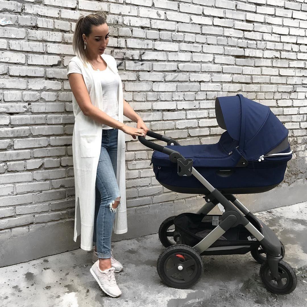 Trailz™ Purple Stroller, Stokke xplory black melange, Stokke